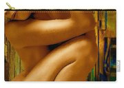 Gold Woman Nude Crop 1 Carry-all Pouch