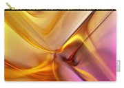 Golden Abstract 042711 Carry-all Pouch