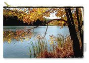 Golden Autumn Lake Carry-all Pouch