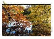 Golden Autumn Trees Carry-all Pouch