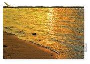 Golden Beach Sunset Carry-all Pouch
