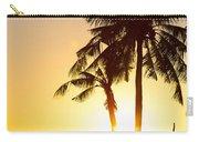Golden Beach Tropics Carry-all Pouch
