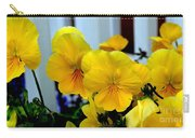 Golden Blooms Beside The Porch Carry-all Pouch