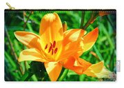 Golden Blossom Carry-all Pouch