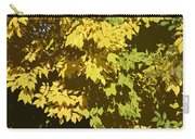Golden Branches Carry-all Pouch