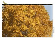 Golden Branches Round Carry-all Pouch