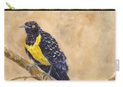 Golden Breasted Starling Carry-all Pouch