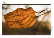 Golden Briar Leaf Carry-all Pouch