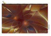 Golden Bronze Swirl Carry-all Pouch