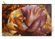 Golden Brown Wild Mushroom Carry-all Pouch