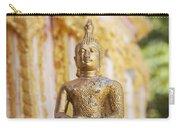 Golden Buddha Ornament Carry-all Pouch