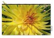 Golden Dahlia Beauty Carry-all Pouch