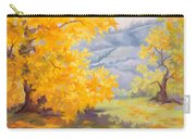 Golden California Sycamores Carry-all Pouch