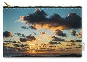Golden Cloud Sunrise Delray Beach Florida Carry-all Pouch