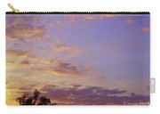 Golden Clouds At Sunset Carry-all Pouch