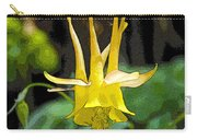 Golden Columbine Carry-all Pouch