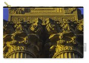 Golden Columns Palace Of Fine Arts Carry-all Pouch