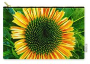 Golden Cone Flower Carry-all Pouch