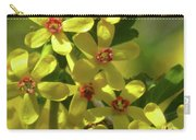 Golden Currant Blossoms Carry-all Pouch