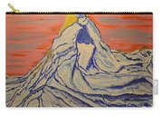 Golden Dawn On Matterhorn Carry-all Pouch