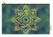 Golden Decorative Star Of Lakshmi - Ashthalakshmi  Carry-all Pouch
