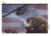 Golden Eagle Collage Carry-all Pouch