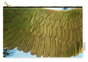 Golden Eagle Wing Carry-all Pouch