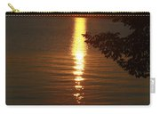 Golden Evening Sun Rays Carry-all Pouch