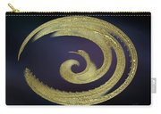 Golden Exotic Bird Abstract Carry-all Pouch