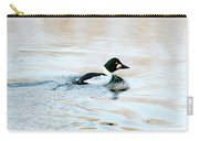 Golden Eye Reflection Carry-all Pouch