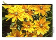 Golden Eyed Susans Carry-all Pouch