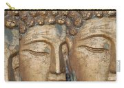 Golden Faces Of Buddha Carry-all Pouch