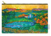 Golden Farm Scene Sketch Carry-all Pouch