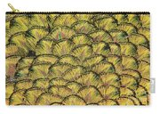 Golden Feathers Carry-all Pouch