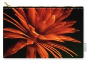 Golden Fireworks Flower Carry-all Pouch