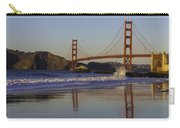 Golden Gate And Waves Carry-all Pouch
