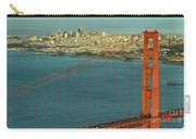 Golden Gate Bridge And San Francisco Skyline Carry-all Pouch