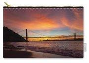 Golden Gate Bridge At Dawn Carry-all Pouch