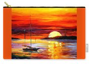Golden Gate Bridge By The Sunset Carry-all Pouch