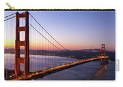 Golden Gate Bridge During Sunrise Carry-all Pouch