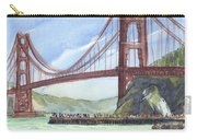 Golden Gate Bridge From Fort Baker, Ca Carry-all Pouch