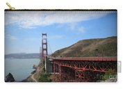 Golden Gate Bridge From The Scenic Lookout Point Carry-all Pouch