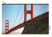 Golden Gate Bridge Sausalito Carry-all Pouch by Doug Sturgess