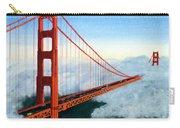 Golden Gate Bridge Sunset Carry-all Pouch