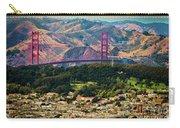 Golden Gate Bridge - Twin Peaks Carry-all Pouch