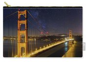 Golden Gate Bridge Under The Starry Night Sky Carry-all Pouch