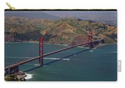 Golden Gate Carry-all Pouch by Donna Blackhall