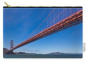 Golden Gate From The Bay Carry-all Pouch