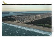 Golden Gate Park And Ocean Beach In San Francisco Carry-all Pouch