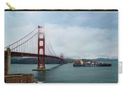 Golden Gate Ship Carry-all Pouch
